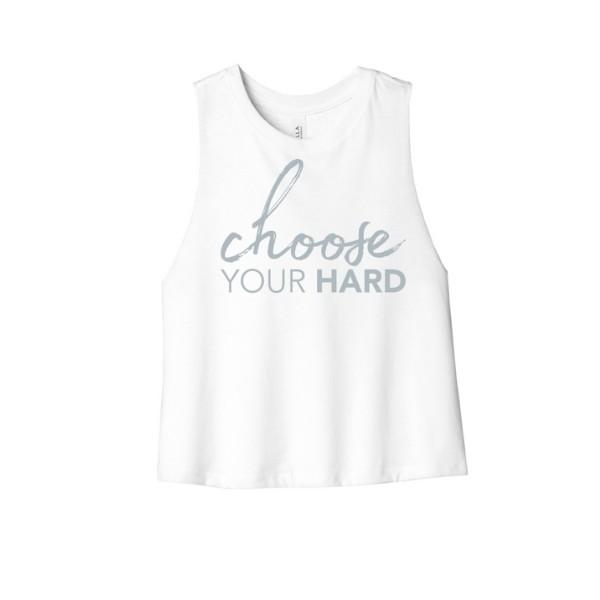 Choose Your Hard Crop Top