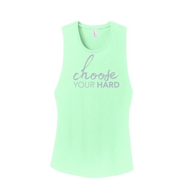 Choose Your Hard Muscle Tee