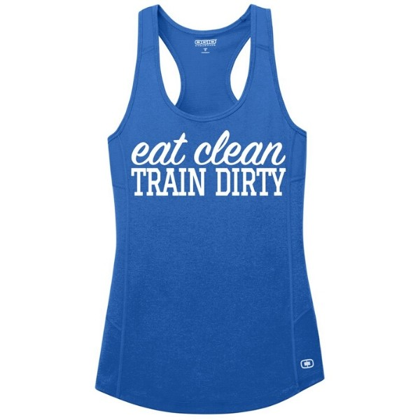 Eat Clean Train Dirty Tank