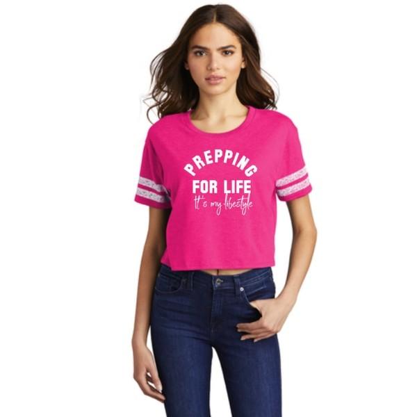 PFL Lifestyle Scorecard Crop Tee
