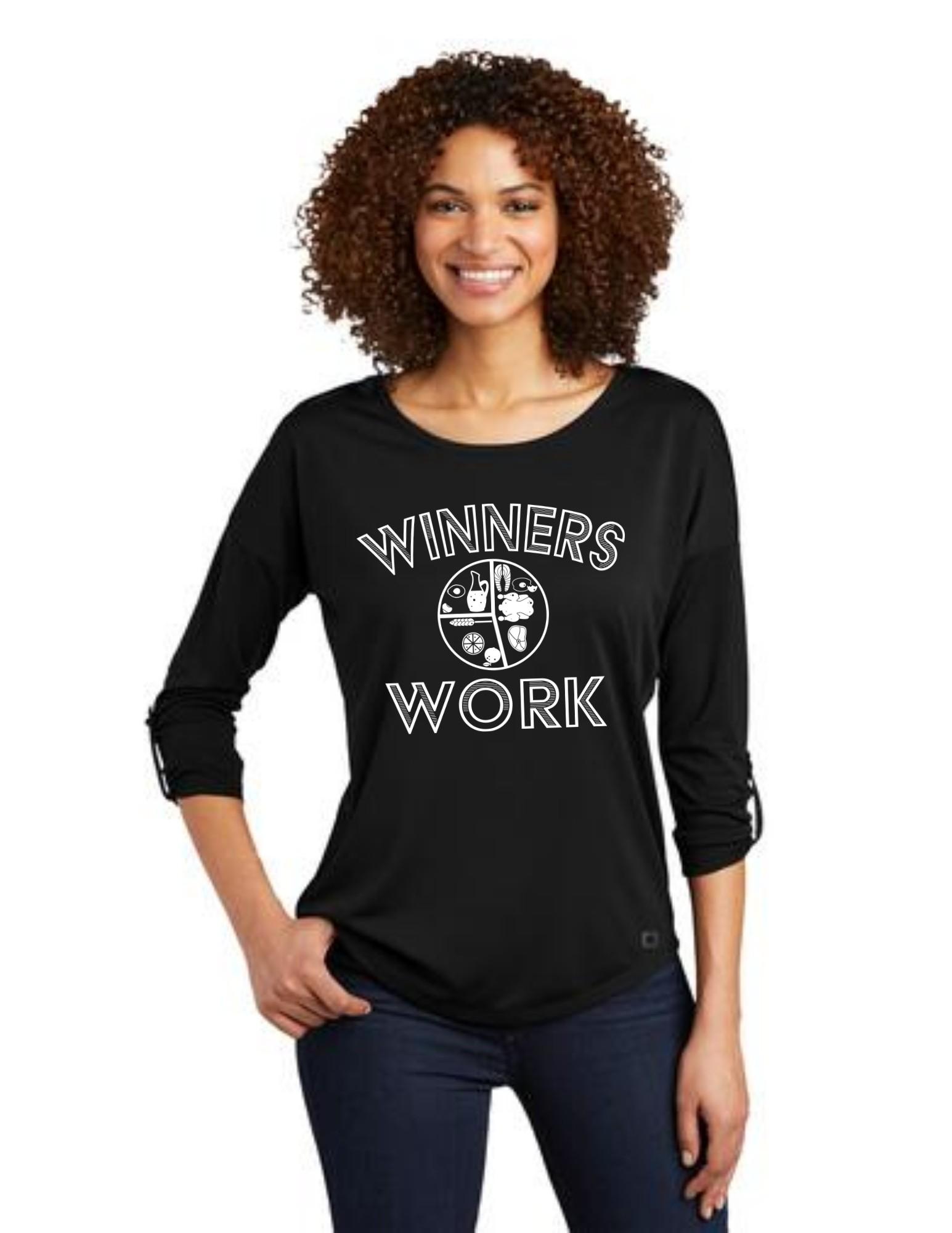 Winners Work OGIO Scoop 3/4-Sleeve