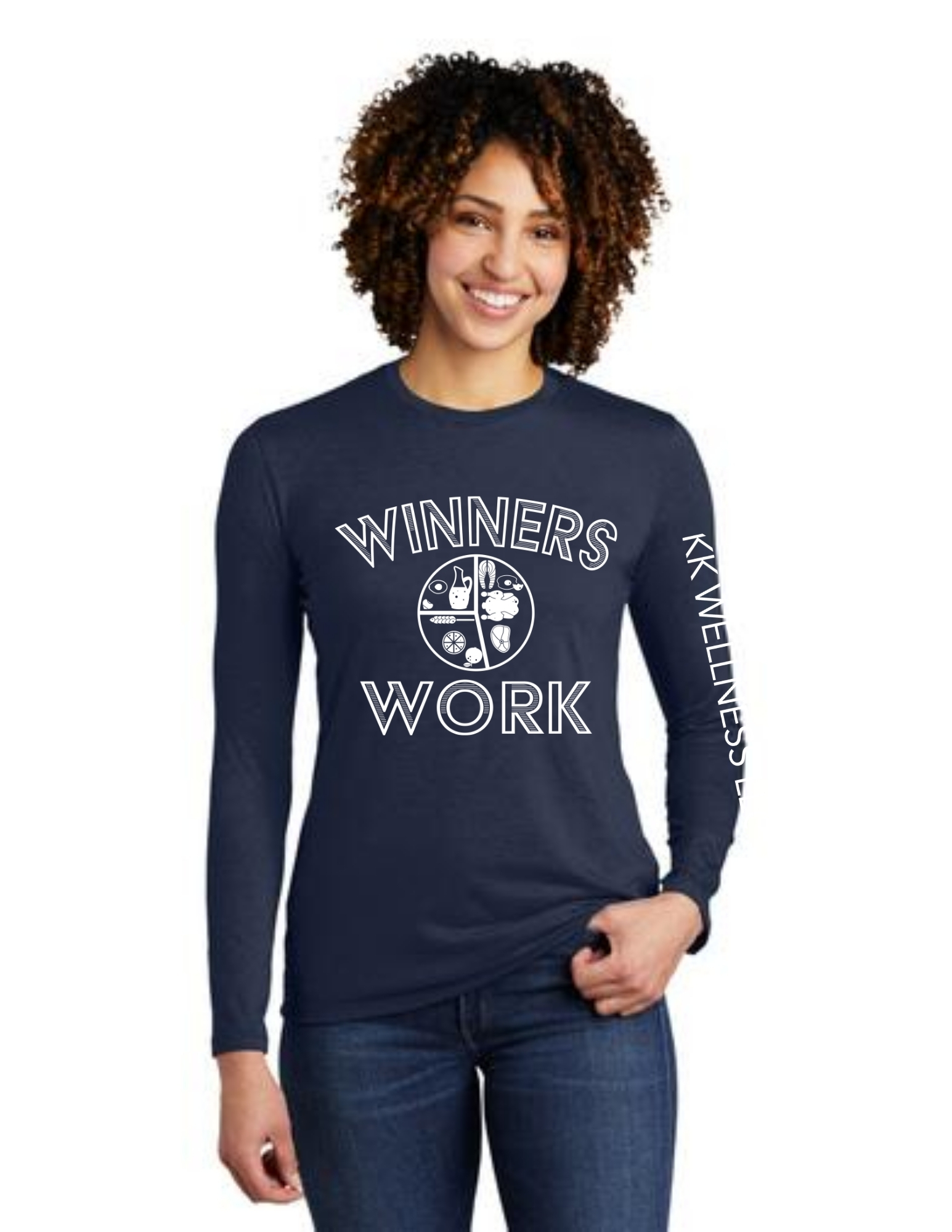Winners Work Allmade Long Sleeve Tri-Blend