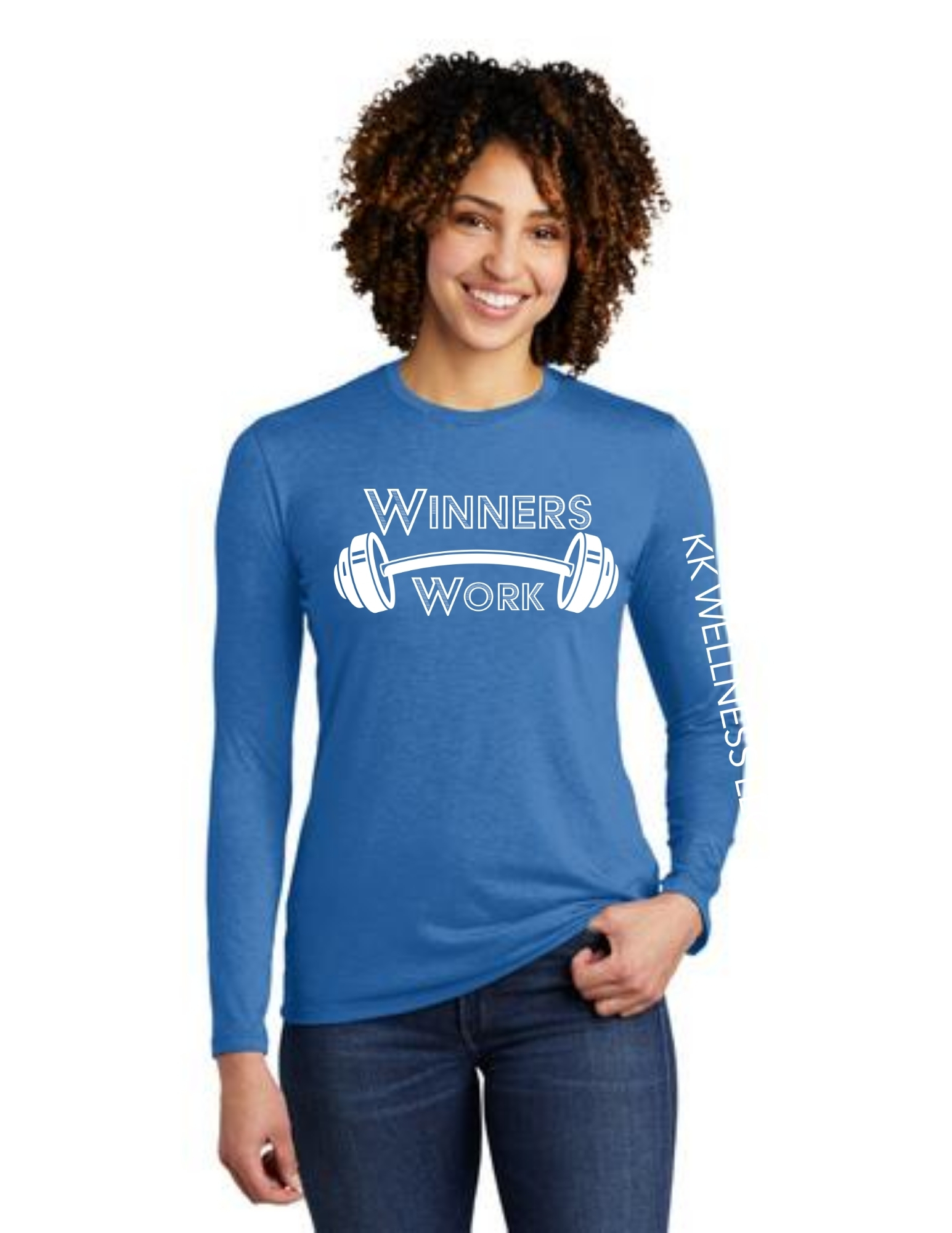 Winners Work Allmade Long Sleeve Tri-Blend
