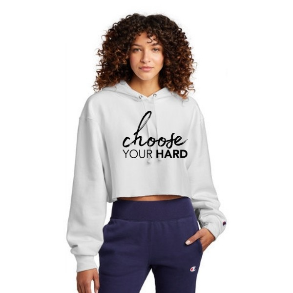 Ladies Cropped Sweatshirt (Champion)