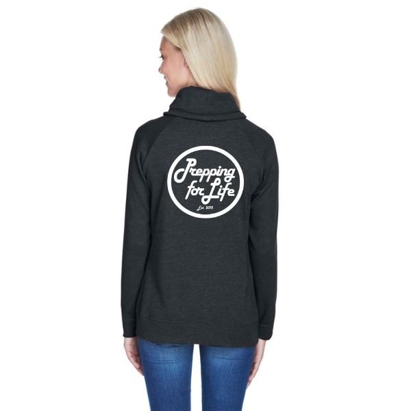Relay Cowl Sweatshirt