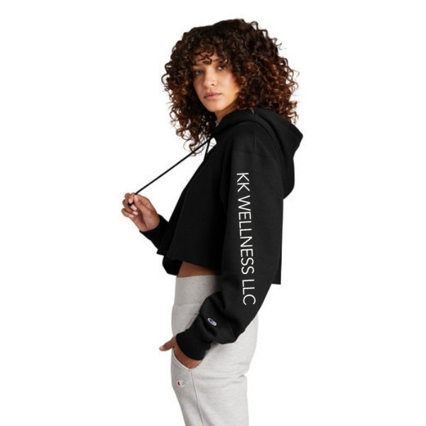 Ladies Cropped Sweatshirt (Champion)