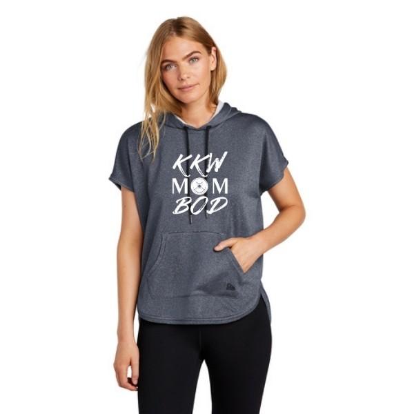 KKW Mom Bod Short Sleeve Hoodie