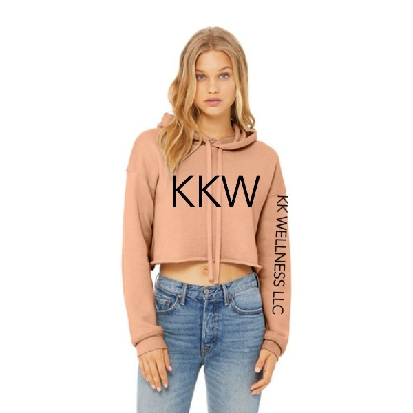 KKW Sponge Fleece Crop Hoodie