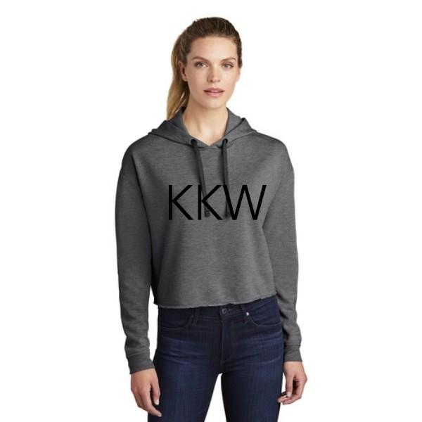 KKW Triblend Crop Hoodie