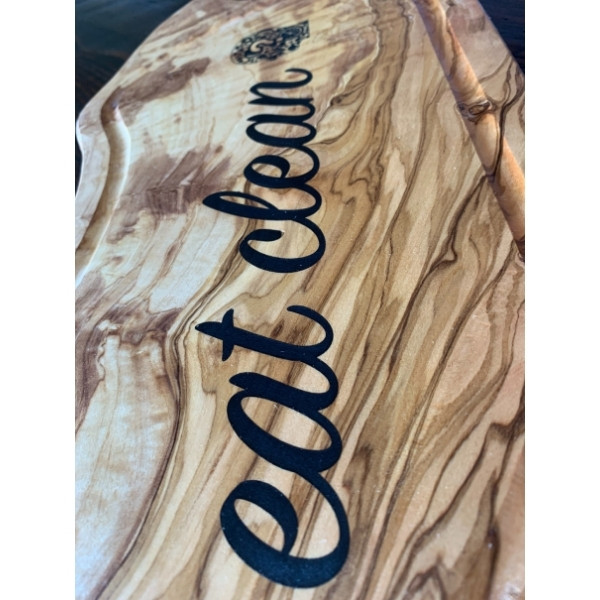 Eat Clean Olivewood Board
