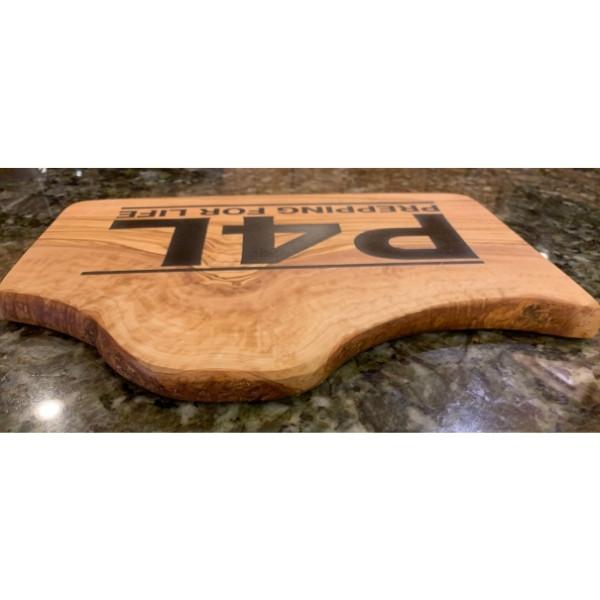 P4L Rustic Olivewood Cutting Board